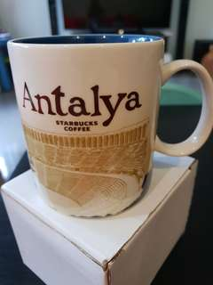 Antalya Turkey Starbucks Mug