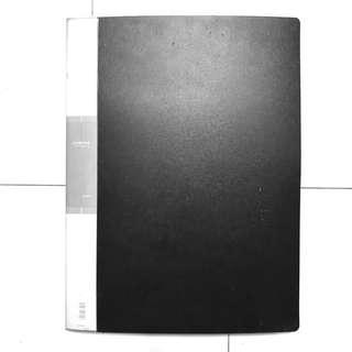 A3 port folio pocket folder (20 pockets)