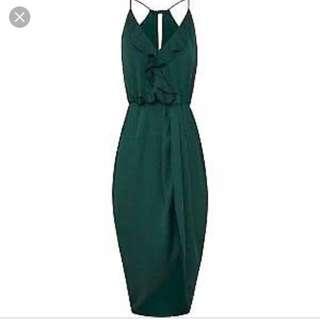 Sheike Forest Green Dress sz 8 BNWT RRP $159.95