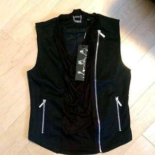 Kardashian Kollection Biker Vest XS
