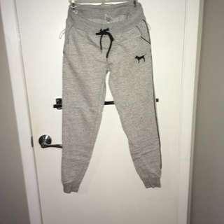 VS PINK grey sweats size XS