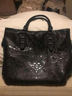 ALDO black tote bag, mint condition