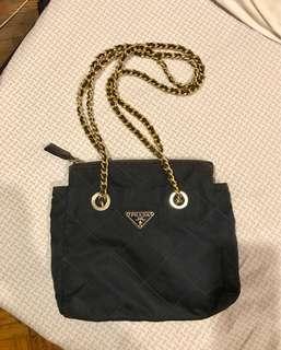 Authentic vintage prada chain bag
