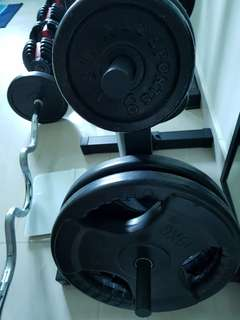Weight plates and weight rack