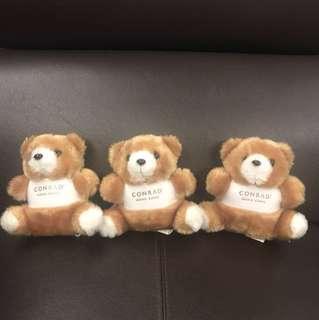 Conrad Hong Kong teddy bears