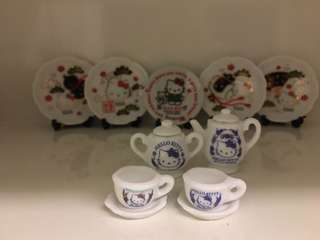 開心Share-@2001 Hello Kitty mini tea set 迷你陶瓷