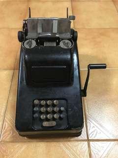 Vintage adding machine (calculator)