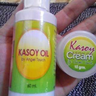 Kasoy cream and oil