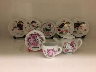 開心Share-@2006 Charmmy Kitty mini tea set 迷你陶瓷