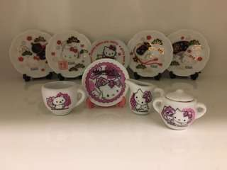 開心Share-@2006 Charmmy Kitty mini tea set 迷你陶瓷