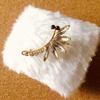 Fashion Ear Clip Cuff w/ Gems