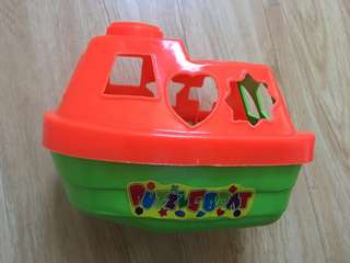 Puzzle Boat (educational toy)