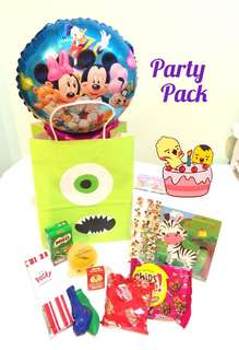 Party Packs / Goodies Bags