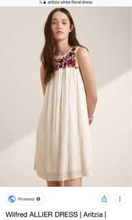 Aritzia wilfred allier dress xs