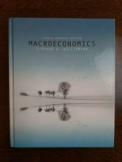 Macroeconomics Stephen D. Williamson Fourth Canadian Ed.