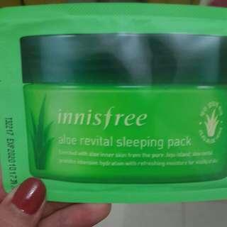 ALOE REVITAL SLEEPING PACK (8ml)