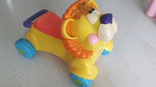 Fisher Price Walker and Car