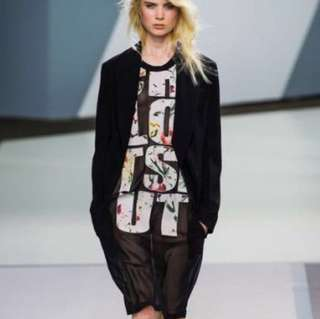 3.1 Phillip Lim Runway See through Patchwork Tunic Top Dress 背心薄身裙衫
