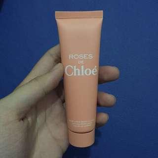 FREE: Sample // Sampel // Roses de Chloé // Perfumed Body Lotion 30ml // 30 ml