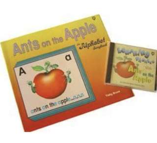 Ants on the Apple Alphabet Song Book + CD