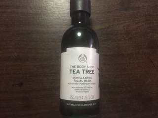 (SALE!!! )The body shop tea tree cleansing wash