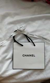 Chanel Paper Bag SMALL size for collectors