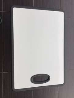 Double sided Magnetic White Board with Rubber Edging