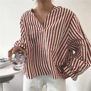 PO: Striped Shirt