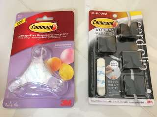 3M balloon bunchers and cord clips pack