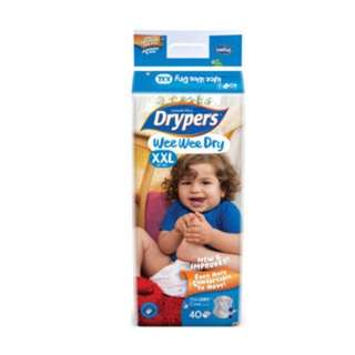 Drypers wee wee dry XXL brand new exchange