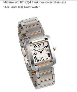 Cartier Tank Mid-Sized Two Tone