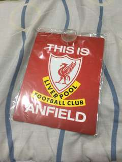 LFC Car Window This is Anfield Sign