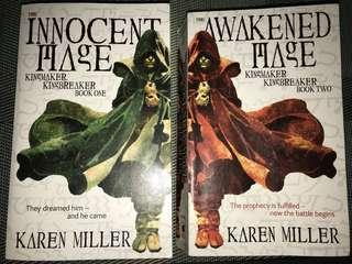 FAST DEAL!!! Karen Miller: Kingmaker Kingbreaker Series (Books 1 & 2)