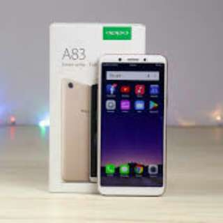 oppo A83 cash credit