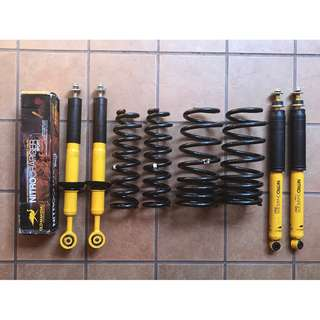Old Man Emu Coil Springs and Shock Absorbers Toyota Land Cruiser 200