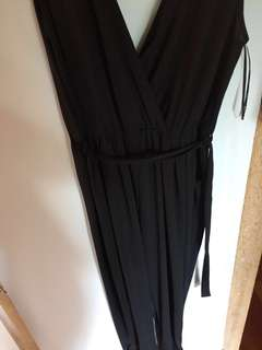 Black full body length Jumpsuit