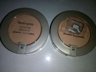 Loose powder & powder foundation