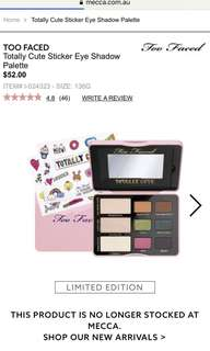 Too Faced - Totally Cute eyeshadow palette