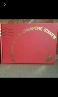 1987 Singapore stamps with Album