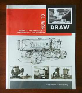 How to draw - Drawing and Sketching objects and Environment from your imagination | By Scott Robertson