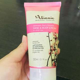 Japanese Cherry Blossom Hand & Body Lotion