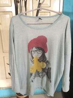 Baju wanita sweater girl