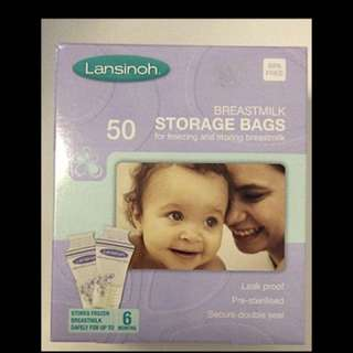 Lansinoh milk bag