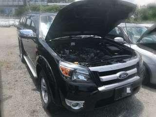 Ford Ranger 2.5 Manual Tahun 2012