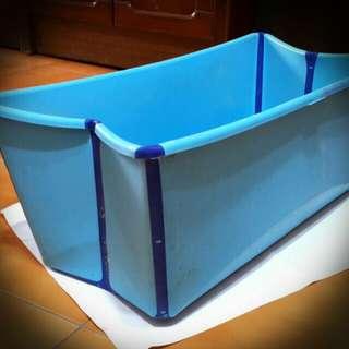 寶寶摺疊浴盆