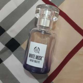 Edt the body shop white musk