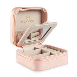 首飾盒 鏡盒 - Vlando Small Travel Jewelry Box