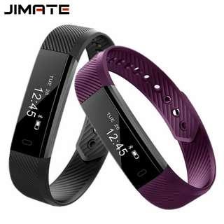 Smart Wristbands Fitness Tracker Step Counter Bracelet Pedometer Bluetooth Smartband Waterproof Sleep Monitor Wrist Watch