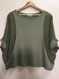 Plus Size Clothing: Crop Top Shirt