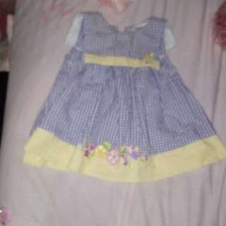 dress and jumper